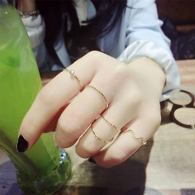 Finger Joint Rings Women Ring Set Thin Ring Accessories Wedding Jewelry Top Sell