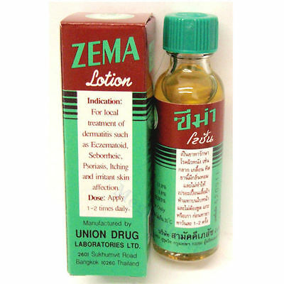 ZEMA lotion Salicylic Acid 12% Dermatitis Eczematoid Psoriasis Eczema Treatment