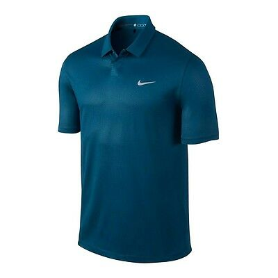 Nike Men's TW Seasonal Embossed Polo 2.0 - Blue Force- Pick Size - New with tags