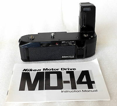 Nikon MD-14 Motor-drive for FG, EM with Manual