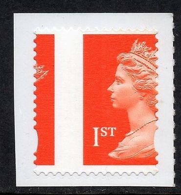 GB MNH 1st Class Self Adhesive Booklet Stamp with massive perf shift.