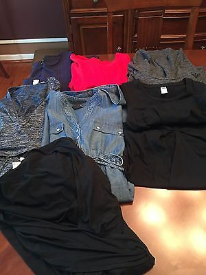 Lot Of Gap, Old Navy And New Look Maternity Dresses. S/M
