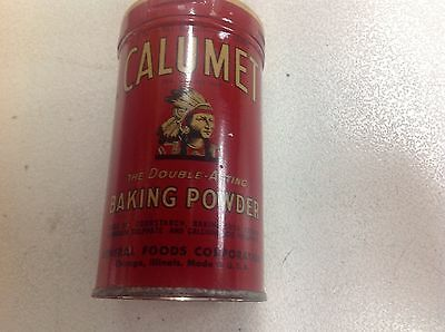Calumet the double acting backing powder vintage can  never been opened