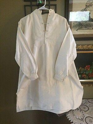 1800's Mens Cotton And Flannel shirt