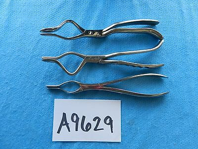 Jarit Surgical ENT Septum Straightening Forceps Lot Of 3