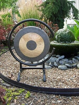 """12"""" Chau Gong on High C Gong Stand with Mallet - TheDissolving Karma Combo"""
