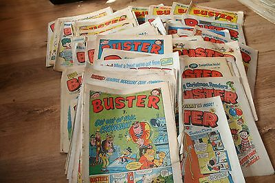 Massive  collection  of  Buster  comics