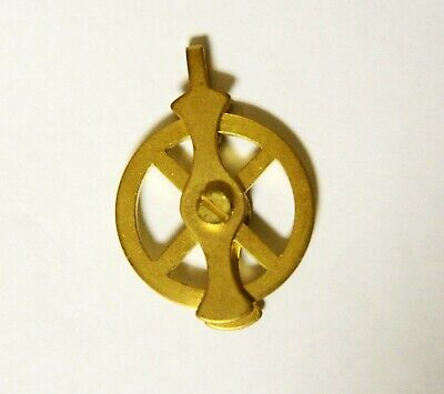 Vienna Regulator Clock Brass 4-spoke Pulley for 1,2 and 3-weight clocks