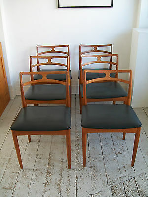 Danish Dining Chairs. J.Anderson for Linneberg