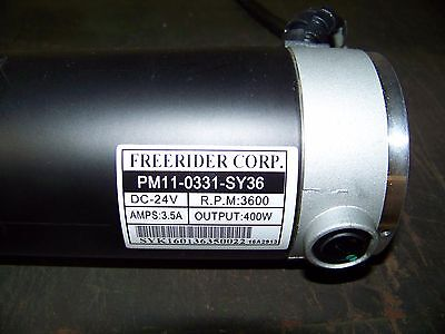 Free Rider Corp. Mobility Scooter Motor P/N PM11-0331-SY36
