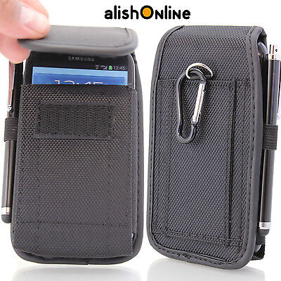 Belt Pouch Cover Holster Case Bag for Apple Samsung all Mobile Phones UNIVERSAL