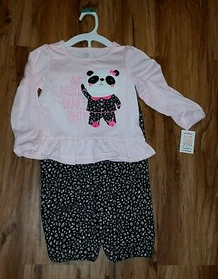 * Girls Pajamas * pink and Leo-print * Just one You * size 4T * New with Tags *