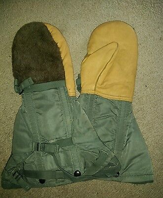 Arctic Extreme Cold Weather Mittens & Liner Set, Flying USAF Gloves type n-4b