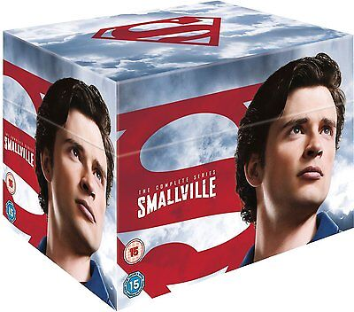 Smallville Season 1-10 Complete DVD Box Set - New/Sealed