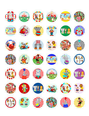 image relating to Carnival Printable called CIRCUS/ CARNIVAL THEMED PRINTABLE Bottle Cap Photographs ~ 42 Alternative Plans!