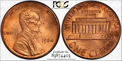 1984 LINCOLN MEMORIAL 1c DOUBLED DIE OBVERSE PCGS MS 66 RD 1984 LINCOLN CENT
