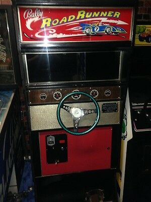 Bally Road Runner - Fully Working! Vintage Arcade EM Game