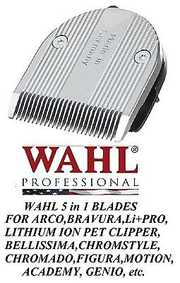 Wahl Moser FINE 5 in 1 Blade for BELLISSIMA,ChromStyle,Motion,PRO PET,GENIO