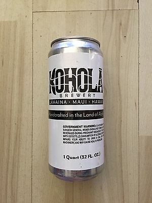 Kohola Brewing Co Lahaina Maui HI CROWLER can Mighty 88 Craft Candles Vase