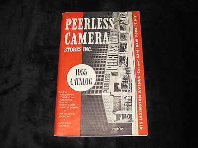 PEERLESS CAMERA STORES 1955 CATALOG Photography Camera