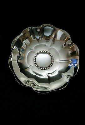 "Tiffany Sterling Silver Lotus Flower Candy Bowl 5 1/8"" 153 grams"
