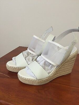 Seed Heritage Gwen Mesh Wedge Size 39 Brand New