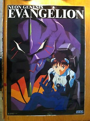 "Neon Genesis Evangelion GAINAX / Project Eva 28 1/2"" By 20"" Poster W/Protector"