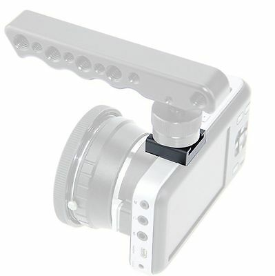 """【SALE】US CAMVATE Hot Cold Shoe Mount Adapter Extension 1/4"""" fr Camera Cage Light"""