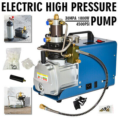 110V PCP 30MPa Electric Air Compressor Pump High Pressure System Rifle YONG HENG