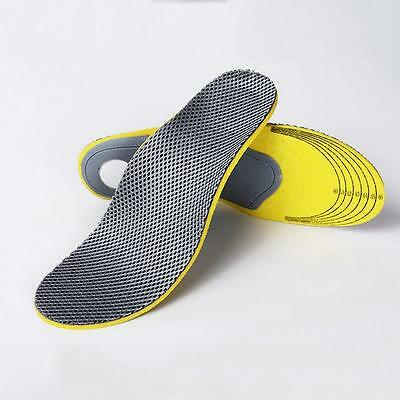 Orthotic Flat Foot Arch Support Cushion Shoe Insoles Heel Pain Relief Size2 Uf