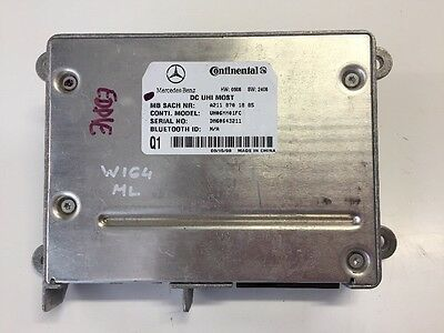 Mercedes Benz W164 ML Bluetooth Control Unit Module A2118701885