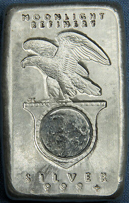 Daniel Carr May 2012 Moonlight Refinery 5 Troy Oz .999 Silver Bar - Only 31 made