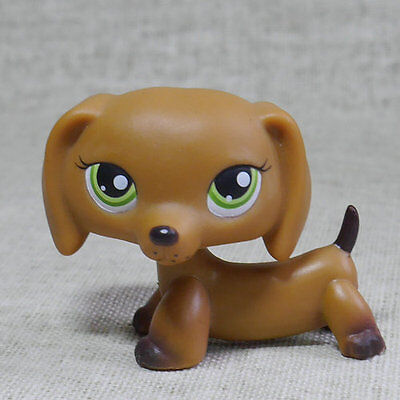 LPS #139 COLLECTION Action Figure Chocolate Dachshund TOY LITTLEST PET SHOP