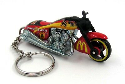 Scorchin Scooter McDonald's #94 NASCAR Racing Motorcycle Key Fob Keychain