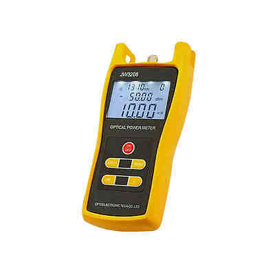 High Quality Fiber Optic Power Meter Optical Tester FC/SC Adapters -70 to +6 dBm