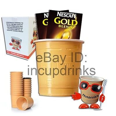 In Cup, Incup Drinks for 73mm Vending Machines - Nescafe Gold Blend Coffee