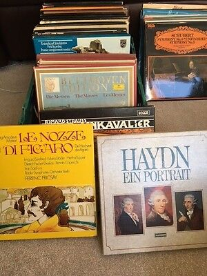 Very Special Collection of Vinyl Classical Box Sets - Plus More LP's