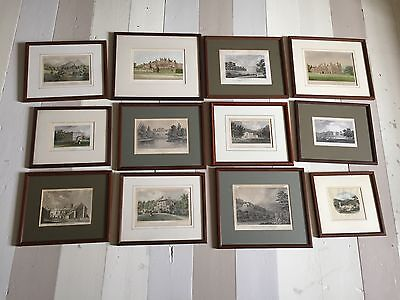 12 Lost Houses Wales Glanusk Hafod Dunraven Madryn Wynnstay Acton Prints