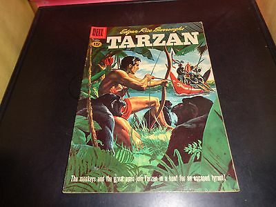 Tarzan #123 1961 Dell Comic Book Silver Age Edgar Rice Burrough's VF Condition