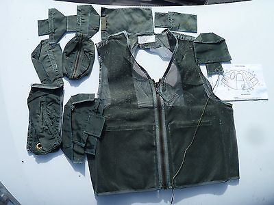 SRU-21P Survival Vest USAF Pilot's Survival Equipment Vest Medium FREE Shipping