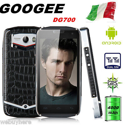 Rugged Impermeabile 4.5'' 8GB Android Cellulare Smartphone 4000mAh DOOGEE DG700