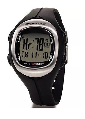 Sportline Solo 915 Mens Pulse Heart Rate Monitor Watch for Running Swimming