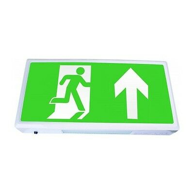 ESP EMLED3WMEXBOX 3W LED IP20 Maintained Exit Sign Light Box 3Hr Emergency 6500K