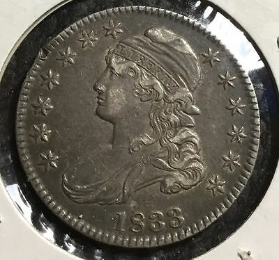 1833 Capped Bust Half Dollar - XF Details