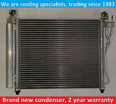 Brand New Condenser (Air Conditioning Radiator) Kia Picanto Mk1 Ba 2007 To 2011