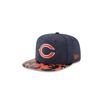 New Era NFL Chicago Bears 2017 Draft On Stage Original Fit 9Fifty Snapback Cap