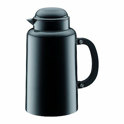 Bodum Chambord Carafe Thermos Vacuum Jug Tea Coffee 1.0L Black