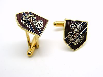 THE ROYAL ENGINEERS PRIVATE SAPPER MILITARY CUFFLINKS TIECLIP LAPEL BADGE GIFT