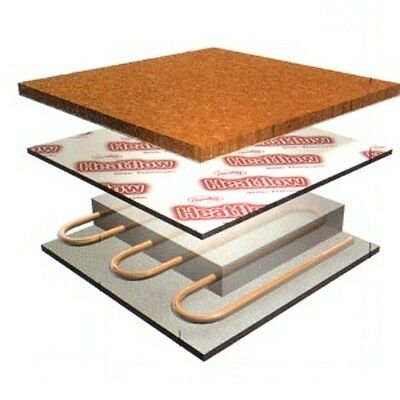 UNDERFLOOR HEATING UNDERLAY Duralay Heatflow Easyflow Low Tog CHEAPEST EBAY