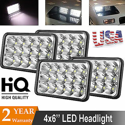4x LED Headlight Bulbs For Kenworth T800 T600 T400 W900B W900L Classic 120/132